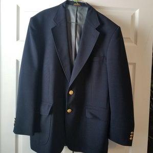 Mens Navy Sport Coat